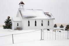 Prairie Winter Scene Stock Image