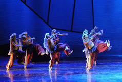 The prairie wolves-The dance drama The legend of the Condor Heroes Stock Photography