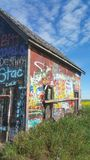 Prairiegraffiti Stock Afbeeldingen