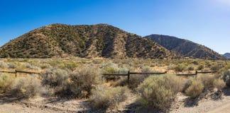 Prairies clôturées d'état de la Californie Photographie stock