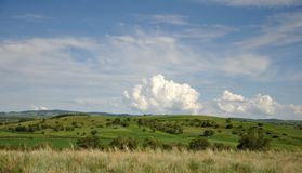 Prairies des Etats-Unis Photographie stock libre de droits
