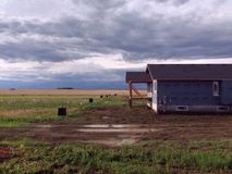 In the prairies Stock Photography