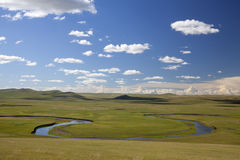 Prairies river Stock Image