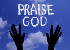 Praise God Royalty Free Stock Photography