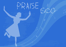 Praise God Royalty Free Stock Photos