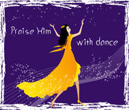 Free Praise Him With Dance Royalty Free Stock Images - 40098989