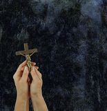 Praise the Lord Rustic Background Royalty Free Stock Image