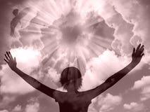 Praise Silhouette Stock Photography