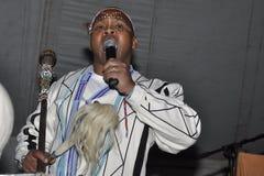 Praise singer Royalty Free Stock Image