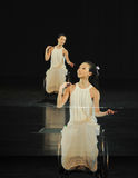 Praise yourself-Dance musical. In May 22nd, the French original dance musical red line at the Jiangxi Art Center held. Chinese youth dance actor Liu Yan as the Stock Images