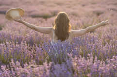 Praising the beauty of life Royalty Free Stock Images