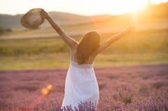 Praising the beauty of life stock photos