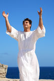 Praising God Stock Image
