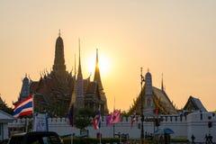 Prakaew de Wat fotografia de stock