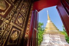 Prakaew de Wat, Chiang Rai Photos stock