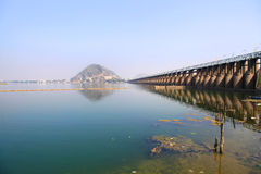 Prakasam barrage royalty free stock images