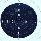 Praktijk, PT pindad, 75M, het schieten, vuurwapen, royalty-vrije stock fotografie