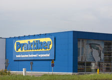 Praktiker Hypermarket stock photo