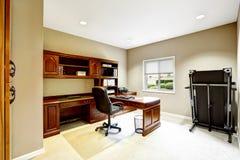 Praktisch binnenlands ontwerp De ruimte van het bureau royalty-vrije stock afbeeldingen