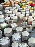Praktisch porselein - bloempot stock afbeeldingen
