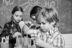 Praktisches Wissen Kinderbetreuung und Entwicklung Schulklassen Kinderentz?ckende Freunde, die Spa? in der Schule haben schule lizenzfreie stockfotos