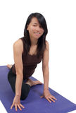 praktyka joga Zdjęcie Royalty Free