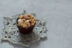 Pralina belga del cioccolato Fotografie Stock