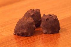 Pralina del cacao Fotografie Stock Libere da Diritti