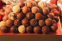 Pralina del cioccolato immagine stock libera da diritti