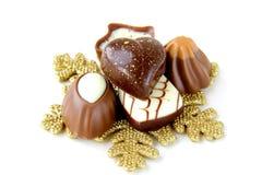 Pralina del cioccolato immagini stock libere da diritti