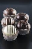 Pralina del cioccolato immagini stock