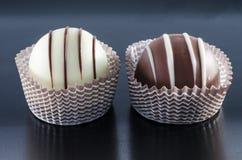 Pralina del cioccolato immagine stock