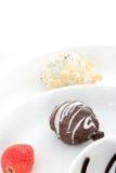 Praline cakes stock image