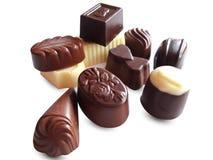 Praline chocolate. royalty free stock image