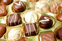 Praline of chocolate Royalty Free Stock Images