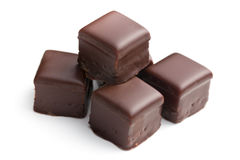 Praline de chocolat image libre de droits