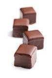 Praline de chocolat photographie stock