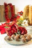 Praline del cioccolato con le nocciole e le mandorle Fotografie Stock
