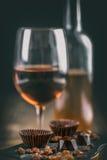 Praline foncée de chocolat Images stock