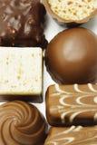 Praline Mixed del cioccolato Fotografia Stock