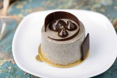 Praline sesame dessert Stock Images