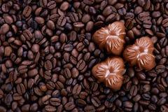 Pralinekaffee Lizenzfreie Stockfotos