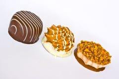 pralines шоколада Стоковая Фотография