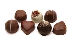 pralines шоколада Стоковое фото RF