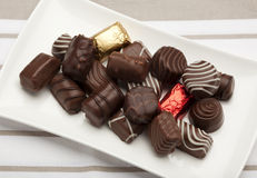 Pralines Stock Photography
