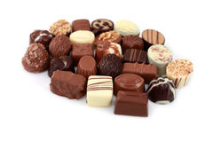 Pralines Stock Images