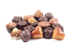 Pralines Stock Photo