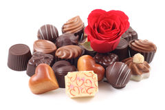 Pralines Royalty Free Stock Photo