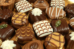 Pralines images stock