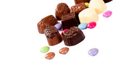 Pralines candy Royalty Free Stock Image
